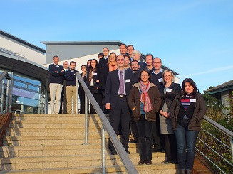 The iWIDGET Consortium Project Team – Kick-Off Meeting November 2012
